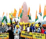 All India Anti Terrorist Front's  demonstration at Jallianwala Bagh