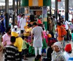 People stranded at Amritsar railway station