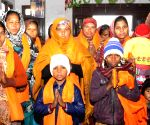 Converted Christians pay obeisance at Guru Ki Wadali Gurdwara