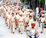 Flag march ahead of the anniversary of Operation Bluestar