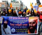 SYFB activists protest to press for release of Sikhs prisoner