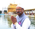Sikkim Governor visits Golden Temple