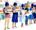 Demonstration against Nanak Shah Fakir