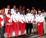 Canada men's Kabaddi team at Golden Temple