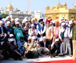 85 envoys, officials pay obeisance at Golden Temple