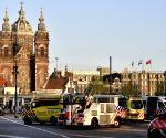 THE NETHERLANDS-AMSTERDAM-CAR CRASH
