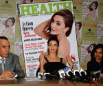 Amy Jackson during the Health & Nutrition magazine cover launch