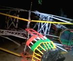 Amusement ride collapses injuring 14 persons