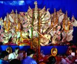 Durga Puja celebrations - Salt Lake - BE Block