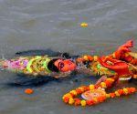 Laxmi idol immersions