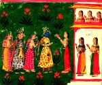 Spirituality gave way to sensuality in Rajasthani miniature paintings'
