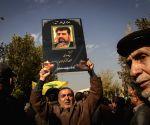 IRAN TEHRAN DIPLOMAT FUNERAL