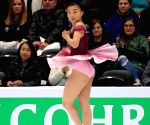 U.S. ANAHEIM FIGURE SKATING FOUR CONTINENTS