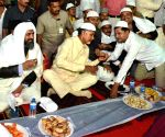 Chandrababu Naidu during an Iftaar party