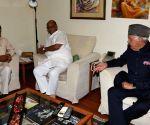 AP CM Chandrababu Naidu, Sharad Pawar, Farooq Abdullah - meeting