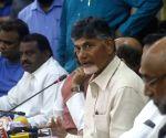 AP CM Chandrababu Naidu's press conference