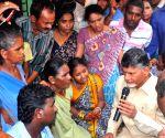 Andhra Pradesh CM meet families of IAF plane