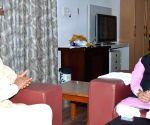 Andhra CM meets Prakash Javadekar