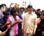 Andhra CM visits Kovvur Goshpada Ghat