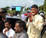 Andhra Pradesh CM visits flood-affected areas in Nellore