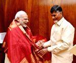 Chandrababu Naidu calls on Modi