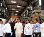 Undavalli (Andhra Pradesh): N. Chandrababu Naidu inaugurates Kondaveeti Vagu flood water pumping scheme