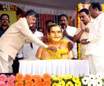 Chandrababu Naidu unveils N.T. Rama Rao's statue