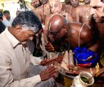 Andhra CM lays foundation stone of Lord Venkateswara Swamy temple