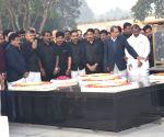 Andhra Pradesh CM visits Raj Ghat