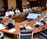 Andhra CM during cabinet meeting
