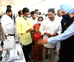 YS Jagan Mohan Reddy launches first phase of Andhra Pradesh-Amul project