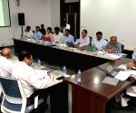 Guntur (Andhra Pradesh): Y. S. Jagan Mohan Reddy chairs review meeting of Irrigation department