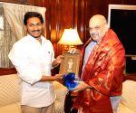Y.S. Jagan Mohan Reddy meets Amit Shah