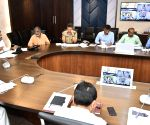 Andhra CM conducts review meeting on Spandana program