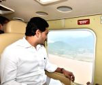 Andhra CM conducts aerial survey of boat accident site