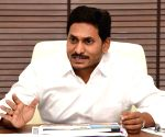 Y.S. Jagan Mohan Reddy during a review meeting