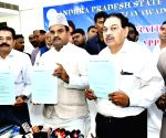 Andhra Dy CM at the launch of Online Haj Application