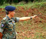 Andhra DGP visits Mangalagiri 6th Battalion Firing Range