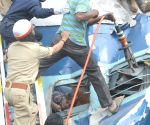 Train derails near Bengaluru, 12 dead