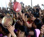 Anganwadi workers' demonstration