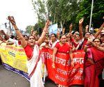 Anganwadi workers' demonstration
