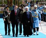 TURKEY IRAN PRESIDENT VISIT