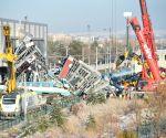 TURKEY ANKARA TRAIN ACCIDENT RESCUE