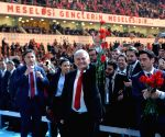 TURKEY ANKARA AKP REFERENDUM CAMPAIGN