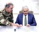 """2 key Syrian towns """"under control"""": Turkish defence minister"""