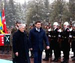 TURKEY ANKARA UKRAINIAN PM VISIT
