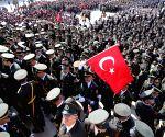 TURKEY ANKARA 96TH ANNIVERSARY