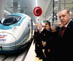TURKEY-ANKARA-HIGH SPEED TRAIN STATION
