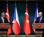 TURKEY ANKARA CZECH REPUBLIC PM VISIT