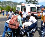 TURKEY ANTALYA BUS ACCIDENT CHINESE TOURISTS